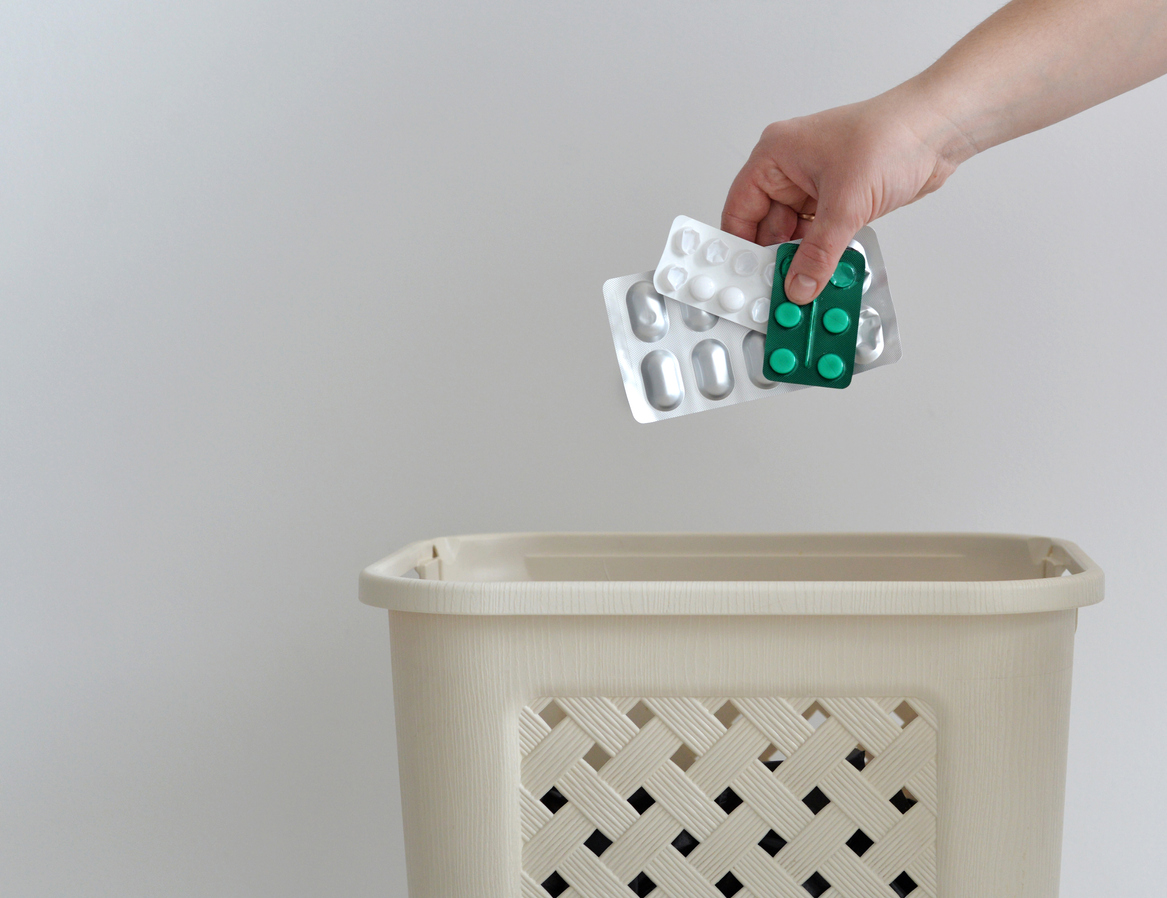 How To Discard Of Expired Or Unused Medications